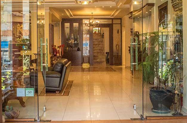 Ιστοσελίδα του Hotell Pella