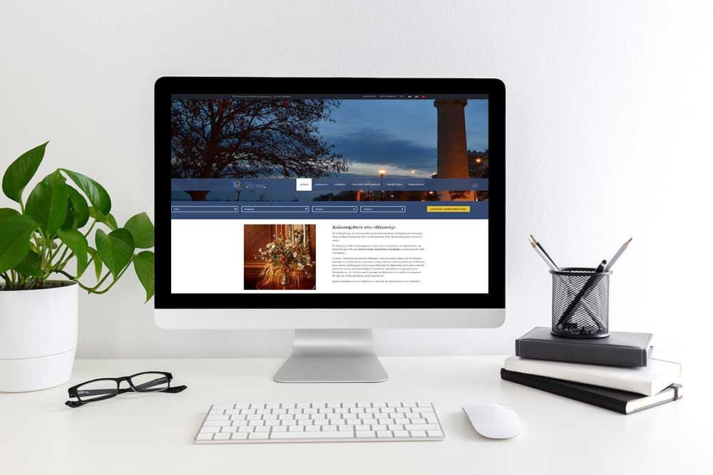 Κατασκευή ιστοσελίδας του Hotel Ωκεανίς από την iservices